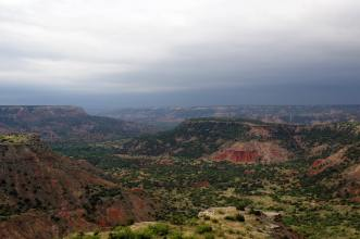 Palo Duro Canyon in northwest Texas